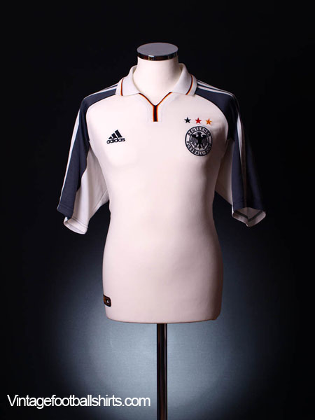 2000-01 Germany Home Shirt *Mint* XL