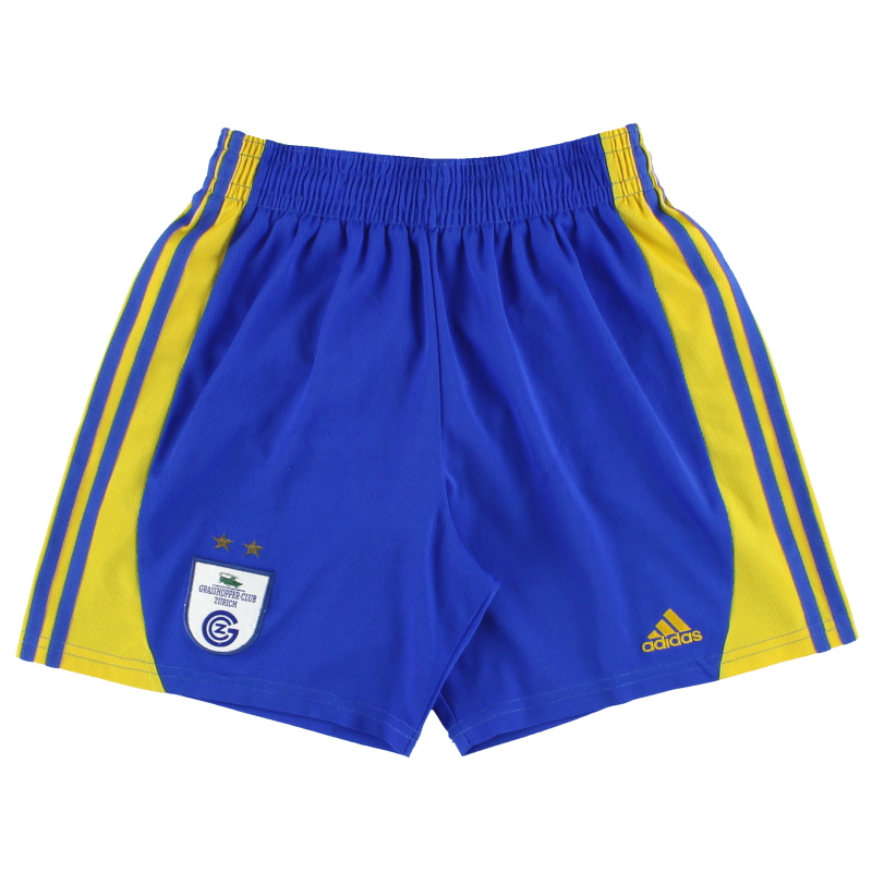 2000-01 Grasshoppers adidas Away Shorts S - 680447