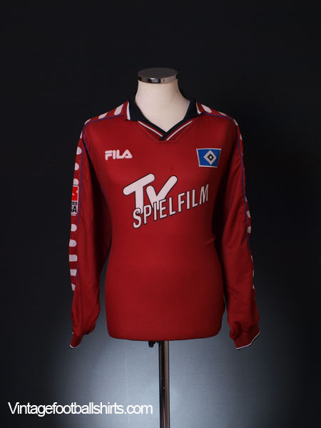 2000-01 Hamburg Away Shirt L/S XL