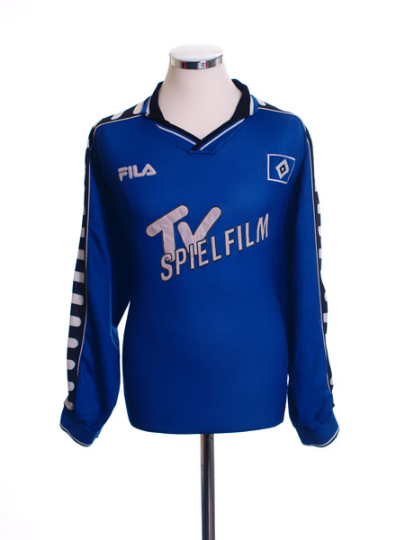 2000-01 Hamburg Third Shirt L/S XL