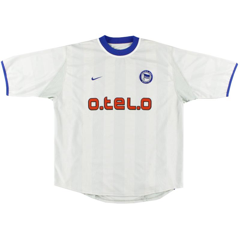 2000-01 Hertha Berlin Away Shirt S