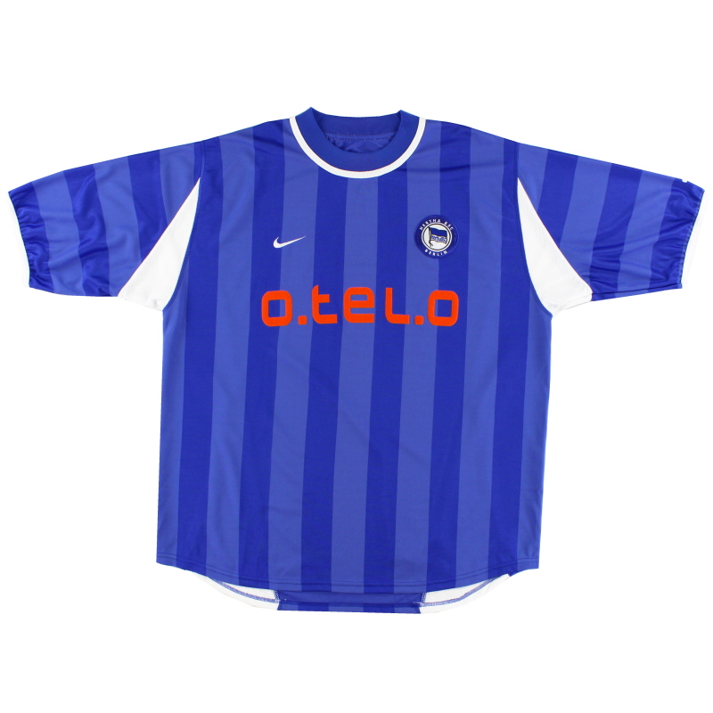 2000-01 Hertha Berlin Home Shirt *Mint* XL
