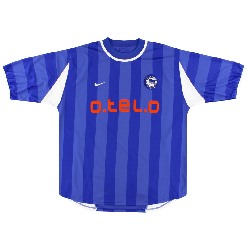 2000-01 Hertha Berlin Nike Home Shirt S