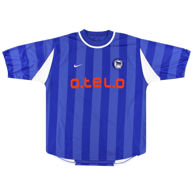 2000-01 Hertha Berlin Nike Home Shirt XL