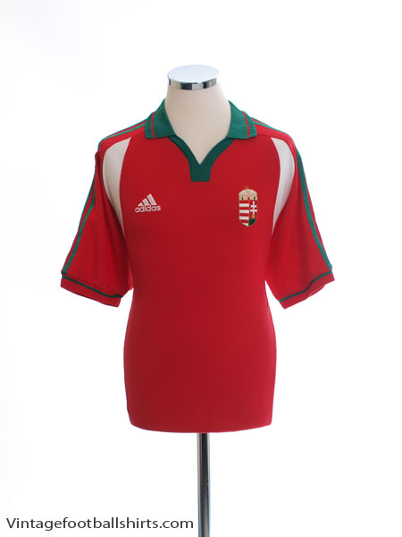 2000-01 Hungary Home Shirt M