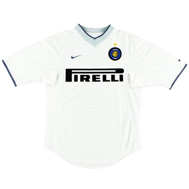 2000-01 Inter Milan Away Shirt S