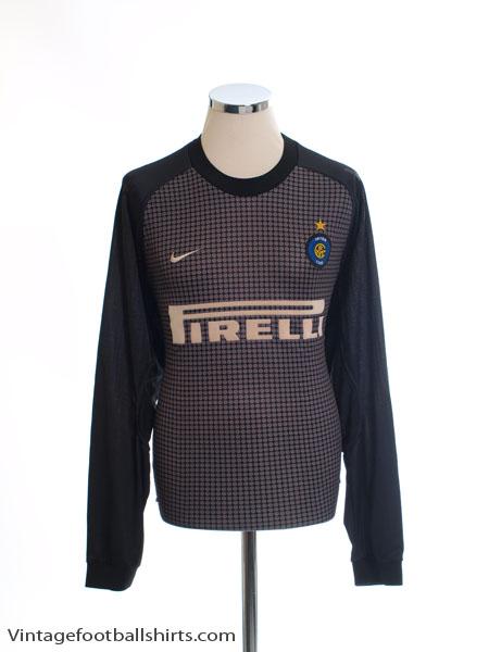 2000-01 Inter Milan Goalkeeper Shirt XL