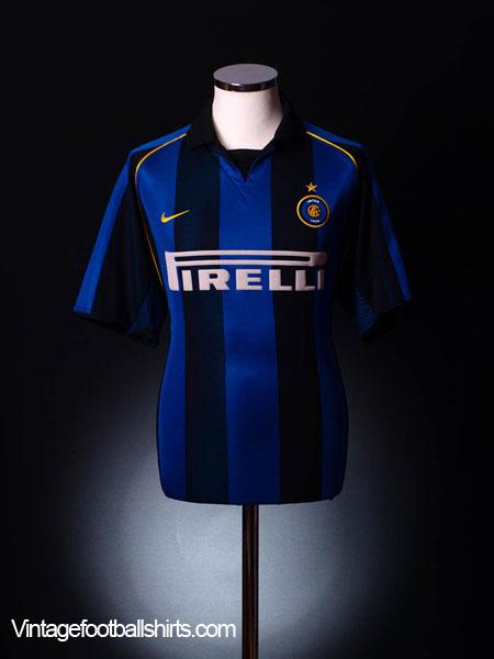 2001-02 Inter Milan Home Shirt XXL