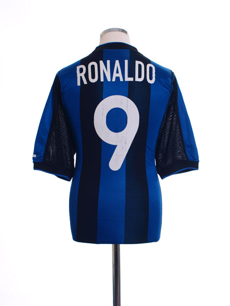 2000-01 Inter Milan Home Shirt Ronaldo  9 M for sale 95e056d39