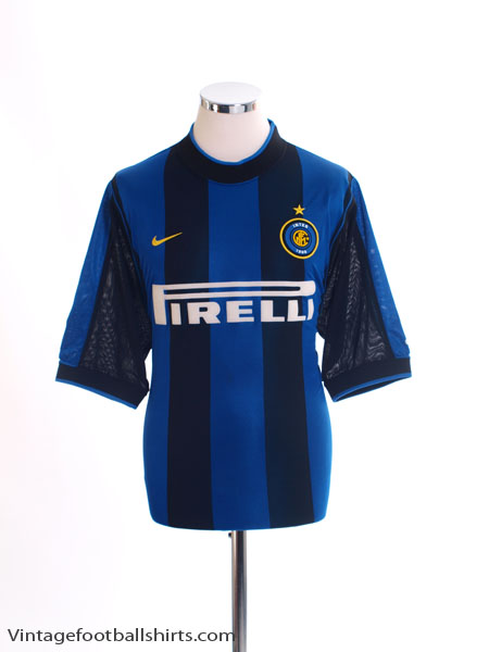 2000-01 Inter Milan Home Shirt L