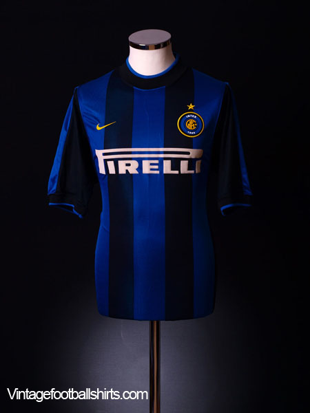 2000-01 Inter Milan Home Shirt XL