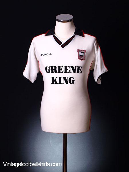 2000-01 Ipswich Away Shirt L
