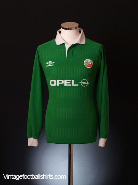 2000-01 Ireland Home Shirt L/S XL
