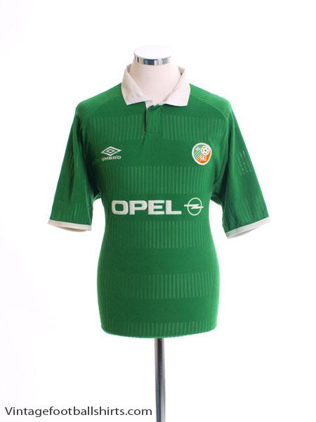 2000-01 Ireland Home Shirt Y