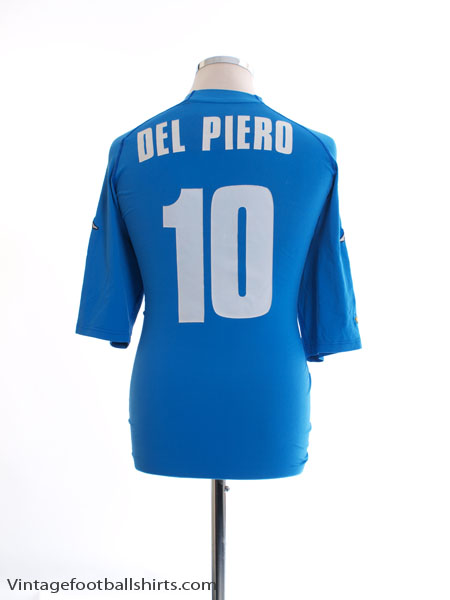 2000-01 Italy Home Shirt Del Piero #10 XL