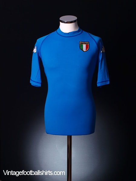 8e20ab02d01 2000-01 Italy Home Shirt L for sale
