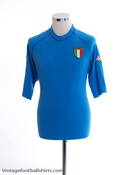 2000-01 Italy Home Shirt *Mint* XL