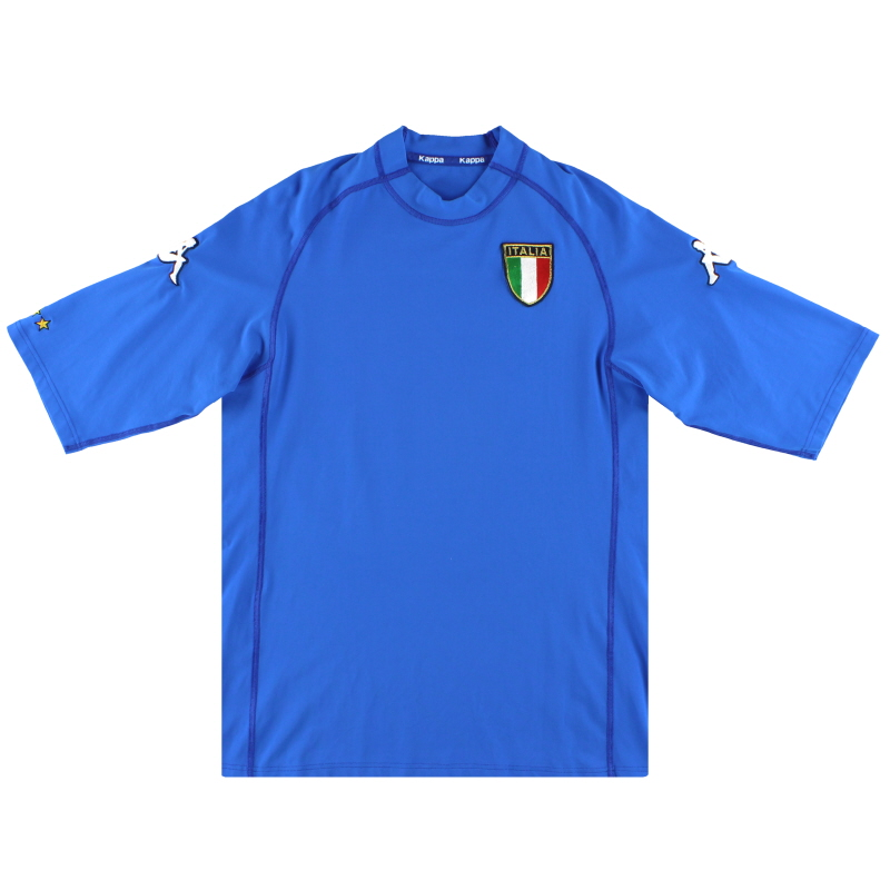 2000-01 Italy Kappa Home Shirt *Mint* S