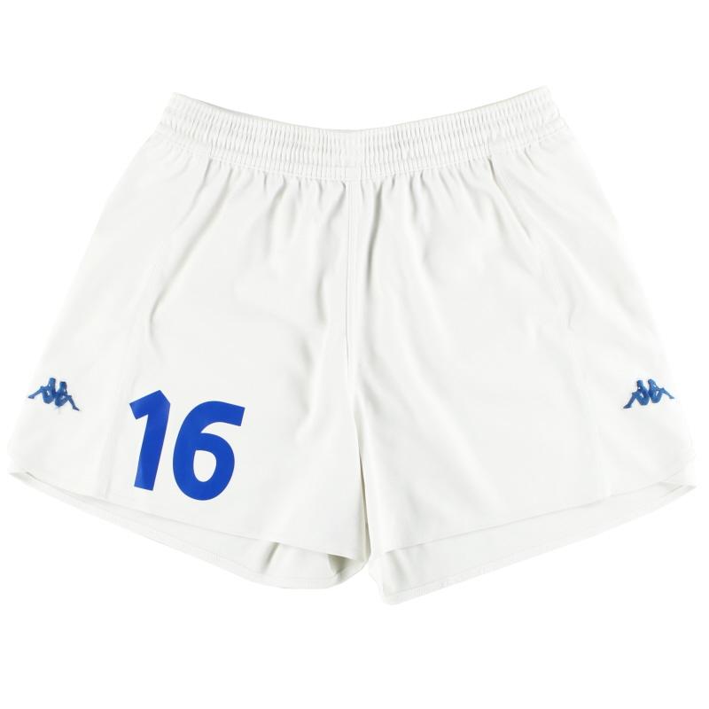 2000-01 Italy Kappa Home Shorts #16 XXL