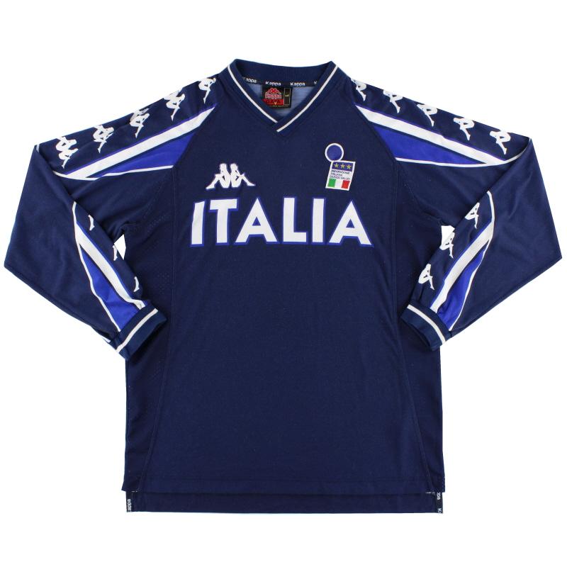 2000-01 Italy Kappa Training Shirt L