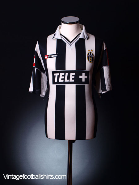 2000-01 Juventus Home Shirt M