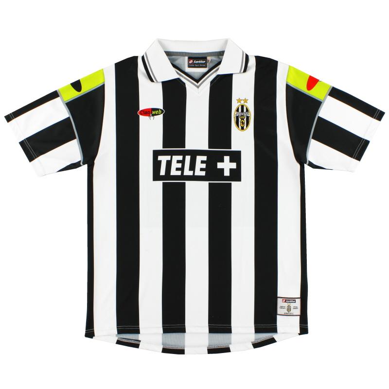 2000-01 Juventus Lotto Home Shirt L
