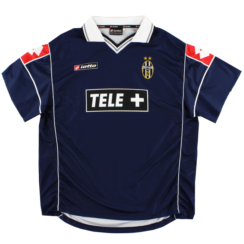 2000-01 Juventus Match Issue Away Shirt #20 XL