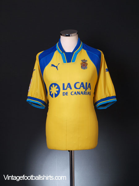 2000-01 Las Palmas Home Shirt L