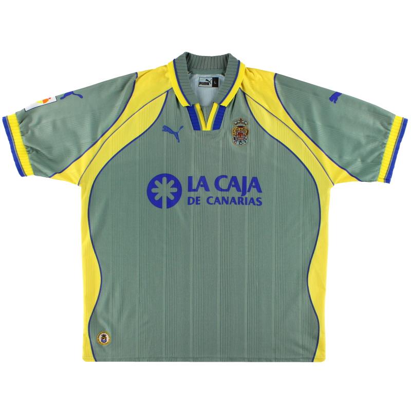2000-01 Las Palmas Puma Away Shirt L
