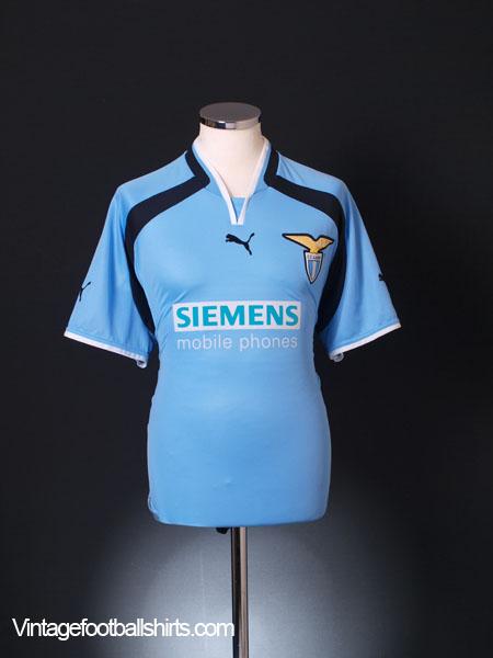 2000-01 Lazio Home Shirt L