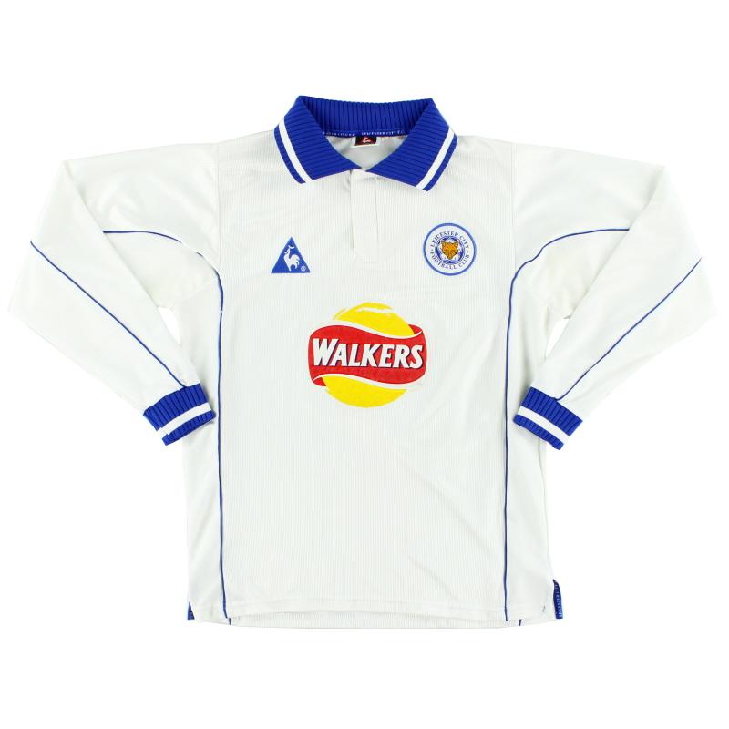 2000-01 Leicester Away Shirt L/S M