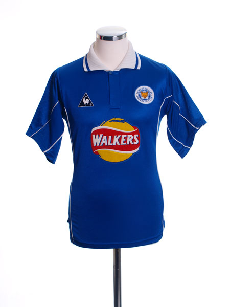 2000-01 Leicester Home Shirt L