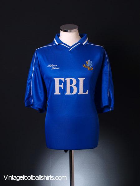 2000-01 Macclesfield Home Shirt XL