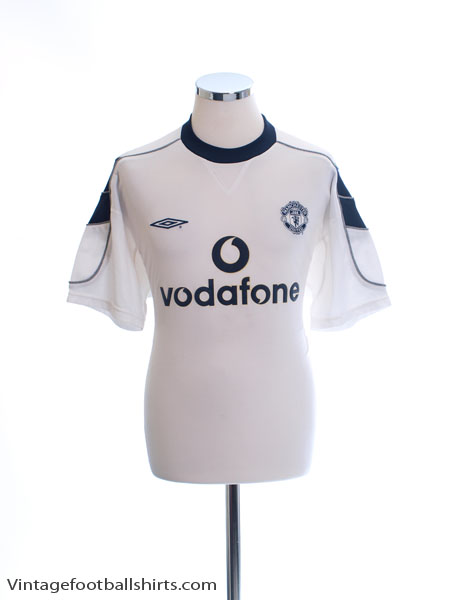 2000-01 Manchester United Away Shirt M