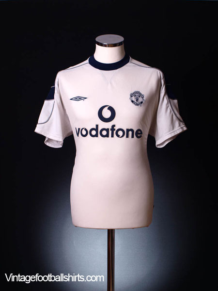 2000-01 Manchester United Away Shirt *As New* XXL