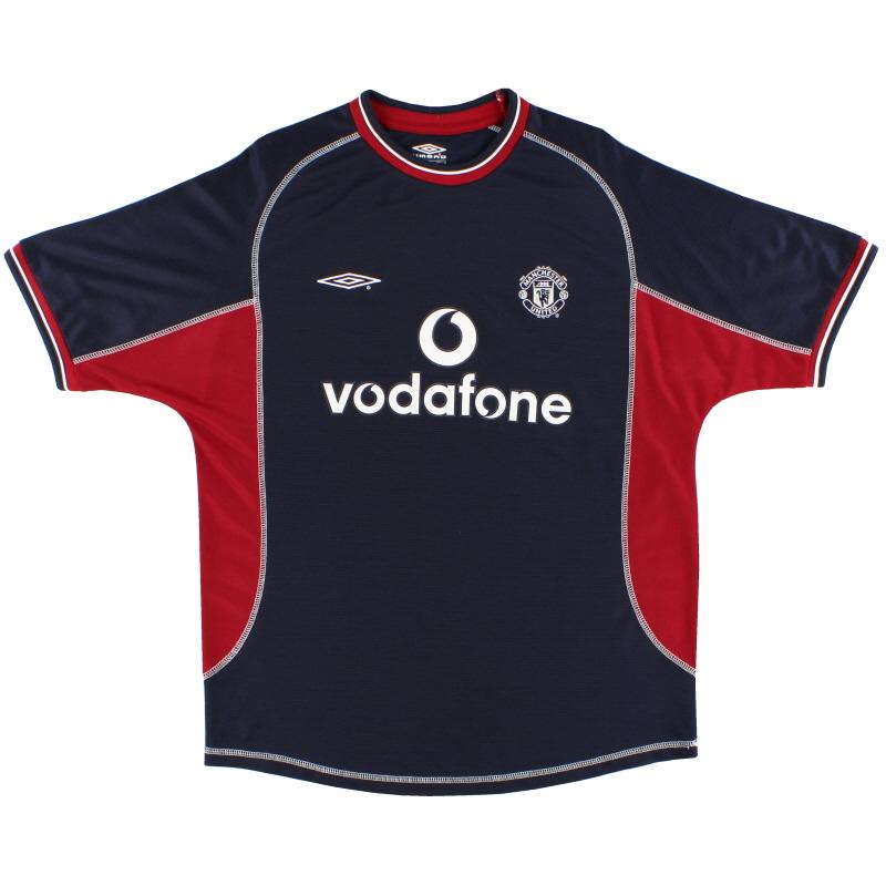 2000-01 Manchester United Third Shirt L.Boys