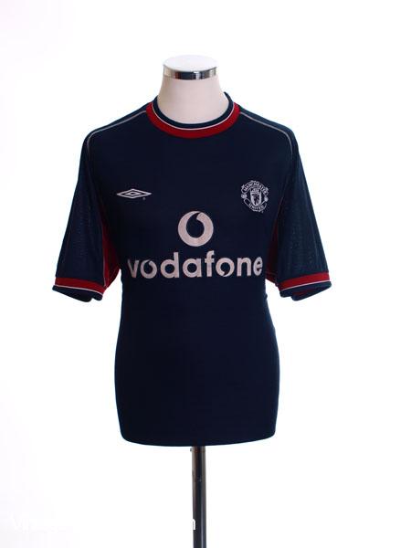 2000-01 Manchester United Third Shirt M