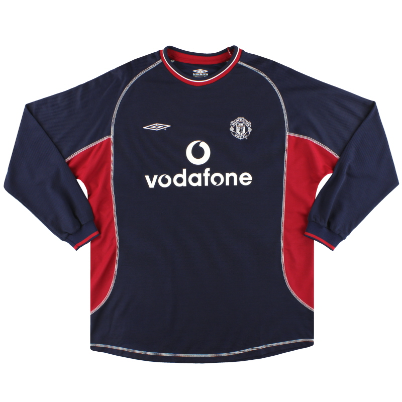 2000-01 Manchester United Third Shirt L/S Y