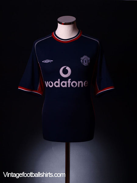 2000-01 Manchester United Third Shirt XL