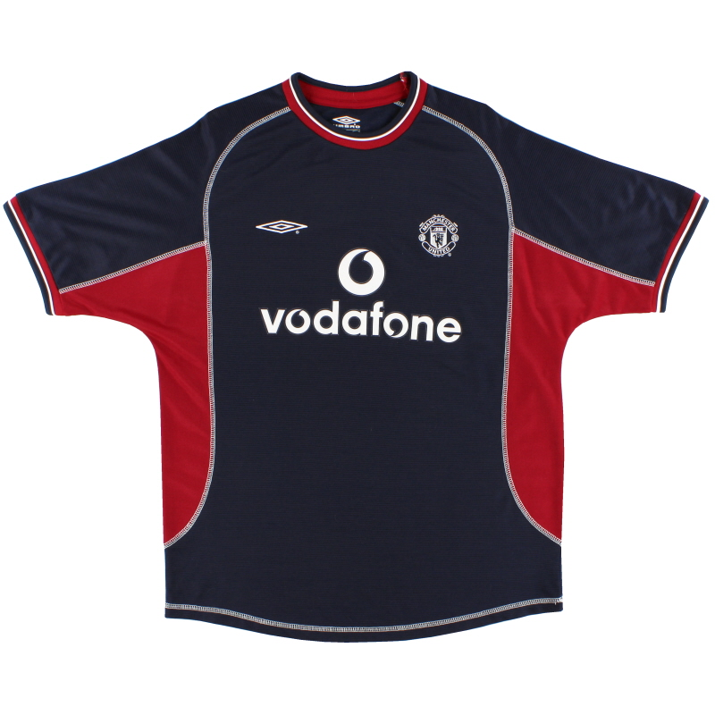 2000-01 Manchester United Umbro Third Shirt L