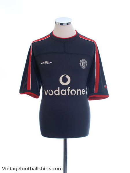2000-01 Manchester United Umbro Training Shirt XL