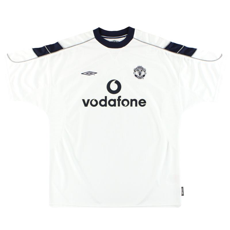 2000-01 Manchester United Umbro Away Shirt *Mint* XL