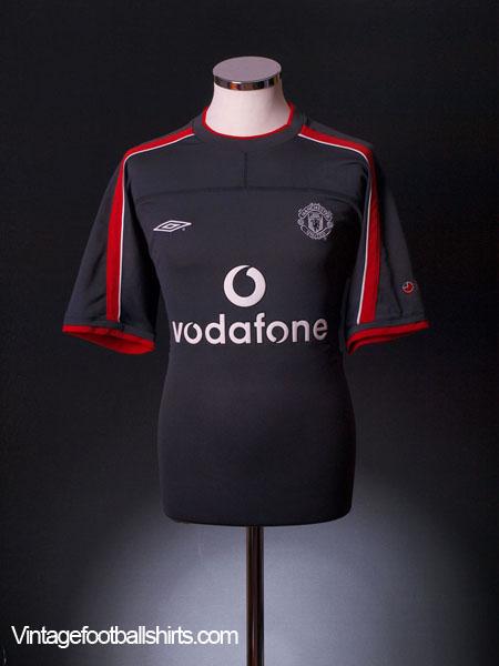 2000-01 Manchester United Umbro Training Shirt L