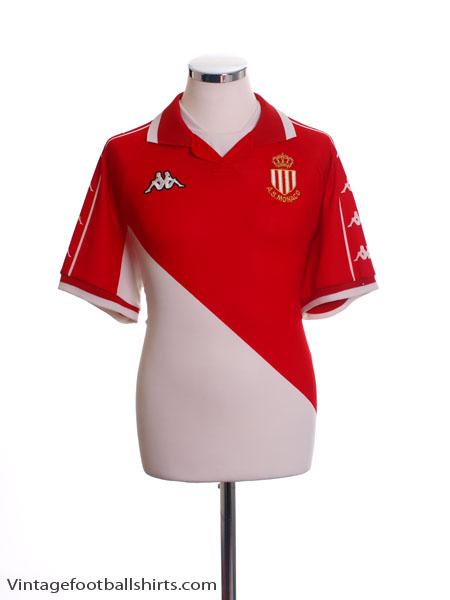 2000-01 Monaco Home Shirt M