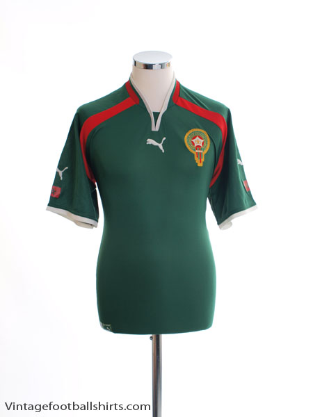 2000-01 Morocco Home Shirt XL