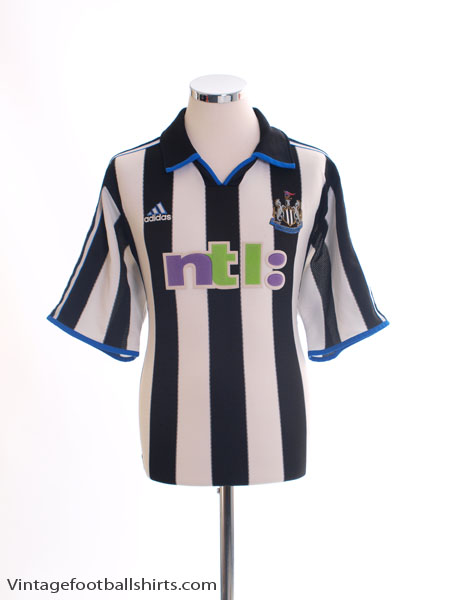 2000-01 Newcastle Home Shirt L