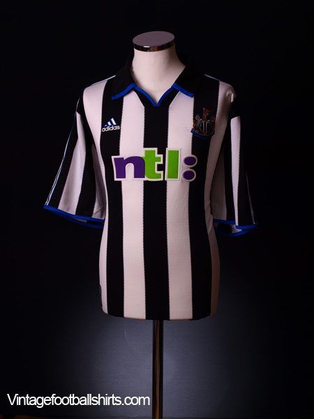 2000-01 Newcastle Home Shirt XXL