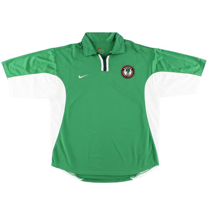2000-01 Nigeria Home Shirt L