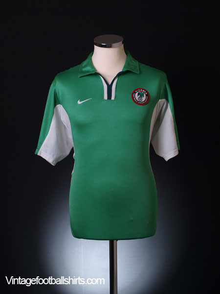 2000-01 Nigeria Home Shirt XL