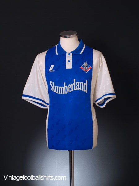 2000-01 Oldham Home Shirt XL